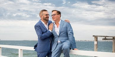 Love is Love Photography - Melbourne Gay Beach Wedding, Gay Wedding Photography Melbourne