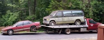 used vehicle removal tow truck cash for cars