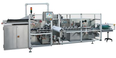 cartoner, cartoning, vertical cartoner, cosmetics, health & beauty, pharmaceutical
