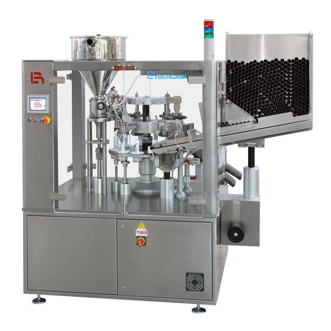 tube filler, filling, tube, production, cosmetic, pharmaceutical, health & beauty