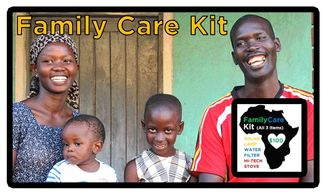 Healthy Charity HealthyCharity BIG Impact Projects Uganda Africa Solar lamps dirty smoke dirty water