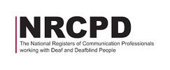 NRCPD Logo - The National Registers of Communication Professionals working with Deaf and Deafblind.