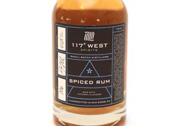 117 West Spiced Rum uses our white rum base and is infused with all fresh ingredients including oran