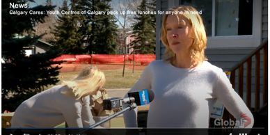 Jane Wachowich founder of Youth Centres of Calgary (YCC)  is interviewed by BT Calgary