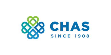 CHAS is a local Calgary society that donated to Youth Centres of Calgary (YCC)