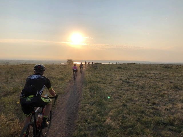 Early morning gravel GROAD bike ride in Boulder, CO!