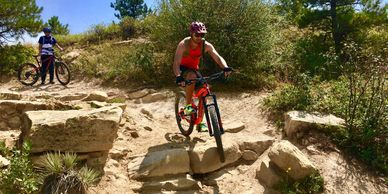 Technical trails with rocky terrain and lots of climbing for hardcore mountain bikers in Boulder