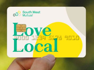 South West Mutual debit card 'Love Local'