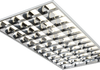 IP20 230V 4 x 36W recessed high frequency modular fluorescent fitting. Requires 4 x 4ft 36 Watt T8 lamps.