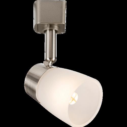 directional track lighting. 230v G9 Directional Track Spotlight - Brushed Chrome On Display In Black Finish Our Lighting