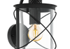Hilburn exterior wall light - Guide price £63. This light can be seen in our showroom.