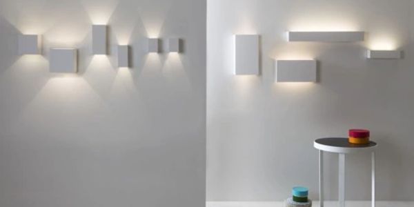 Wall washers casting light up and down by Astro lighting