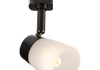 230v G9 Directional Track spotlight - On display in our showroom - Guide price £13.50. Also available in white and brushed chrome.