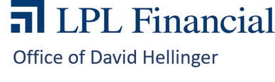 The LPL Financial logo, which says it is the office of David Hellinger.
