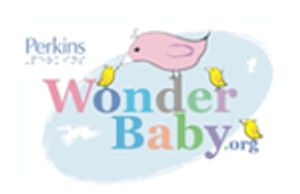 The Wonder Baby logo, which has a mother bird and three baby birds.