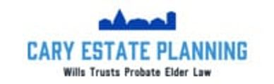 The Cary Estate Planning logo, which has the downtown Cary skyline.