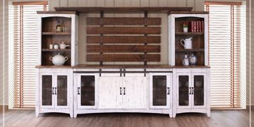 Solid Wood Furniture Pieces, Bedroom Sets, Dining Room, Table, Entertainment Stands