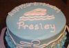 Birthday Cake for a Swimmer