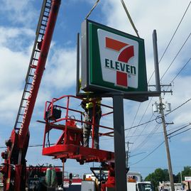 Pylon Sign Installation and Service