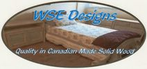Hand made Canadian solid wood home furniture.