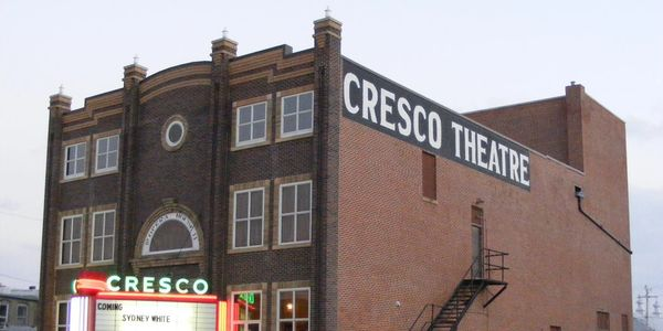 Cresco Iowa, theater, community center