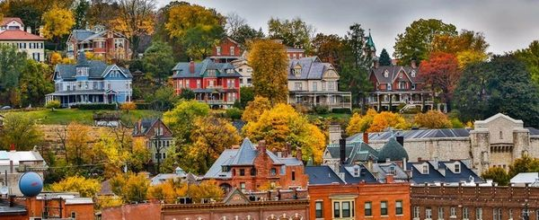 Houses in Dubuque, Iowa