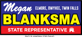 Blanksma for Idaho