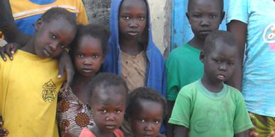 Faces of South Sudan children