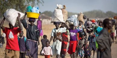 South Sudan's refugees leaving in mass