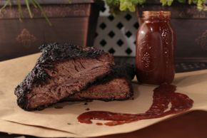 Smoked Brisket w/ Signature Thumbs Up!BBauce