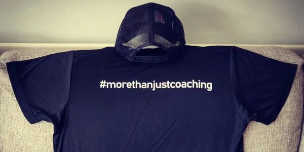 Raced Coaching trucker and technical running tee.