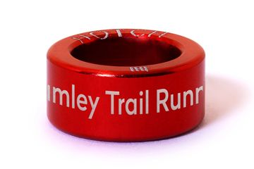 Bramley Trail Runners Notch in red.