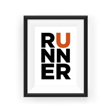 Raced Prints Runner Print