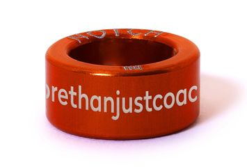 Raced Coaching Notch with our motto 'more than just coaching' in orange.