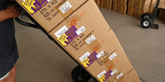 True Goo Tire Sealant Orders are promptly and carefully packed.  Contact us directly at 303 772-0209