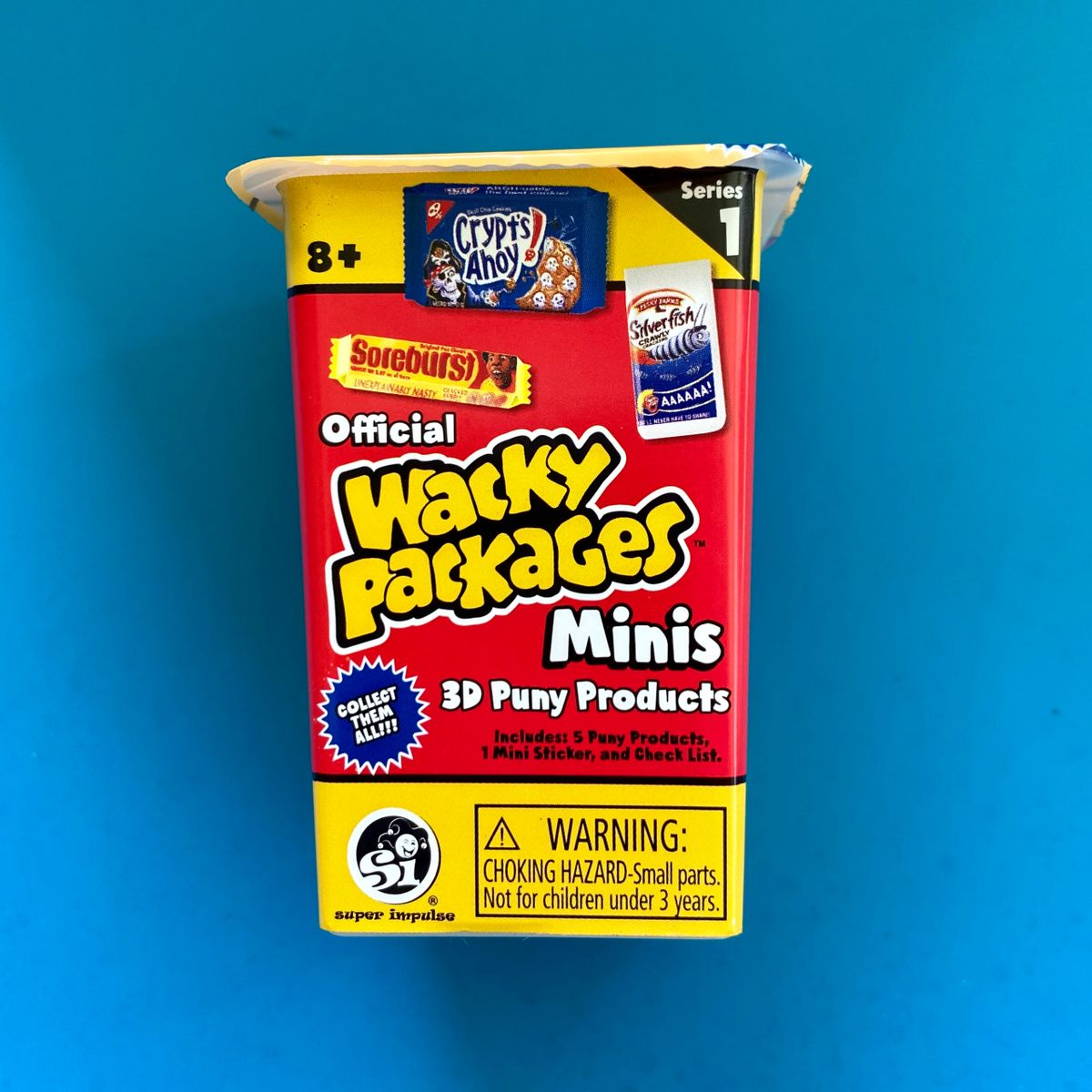 Wacky Packages Minis 5 pc Blind Box Series 1 Multi