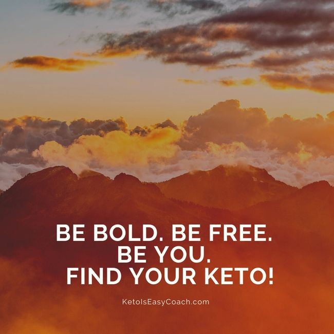 Find your own path to keto