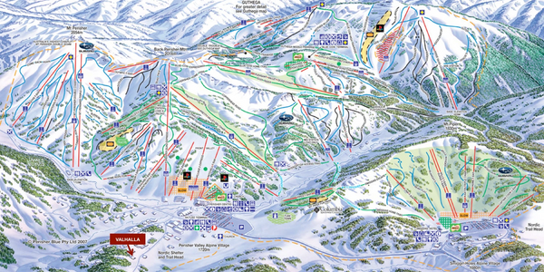 Perisher Valley Village Map