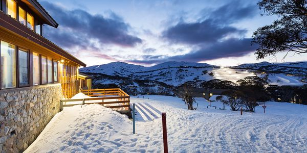 Perisher accommodation in a quiet but central on snow position