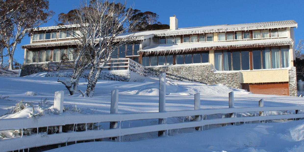 Valhalla Perisher Accommodation, on snow, ski out.