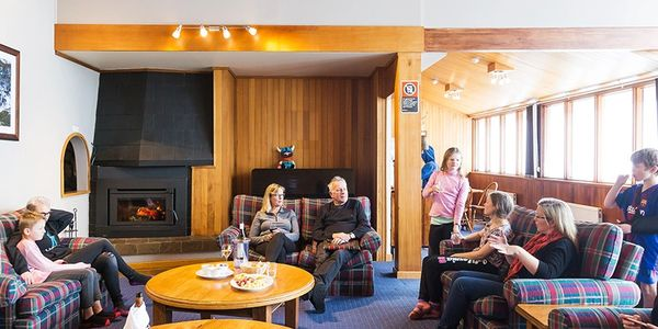 après by the fire at Valhalla Perisher accommodation