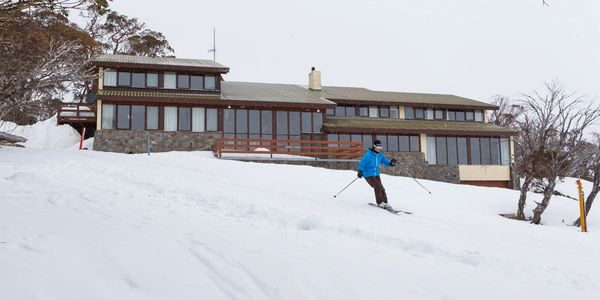 Skiing out of Valhalla Perisher to Perisher Snow Resort. A 2 minute ski. On snow accommodation