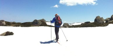 Ski Touring with K7 Adventures