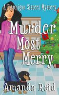Murder Most Merry front cover art