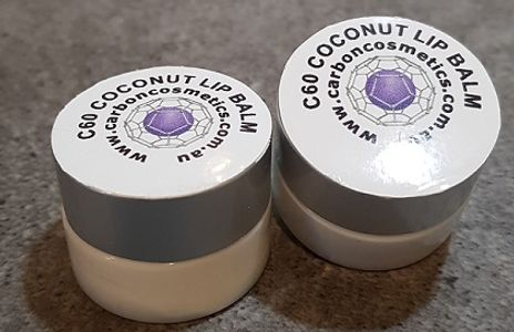 C60 Coconut lip balm