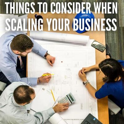 Things to consider when scaling your business - blog by Roger Grona - Firebird Business Consulting