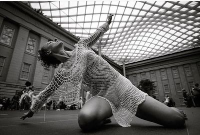 NYC HEIDI LATSKY DANCE COMPANY Meredith Fage in OBRANT  at the SMITHSONIAN
