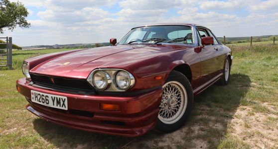 Jaguar XJS Le MANS for sale at Dart motor storage Dehumidified secure fully insured car storage