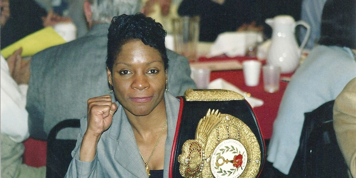 3x world champion boxer Downtown Leona Brown and 1997 Golden Glove Champion and 2x Hall of Famer