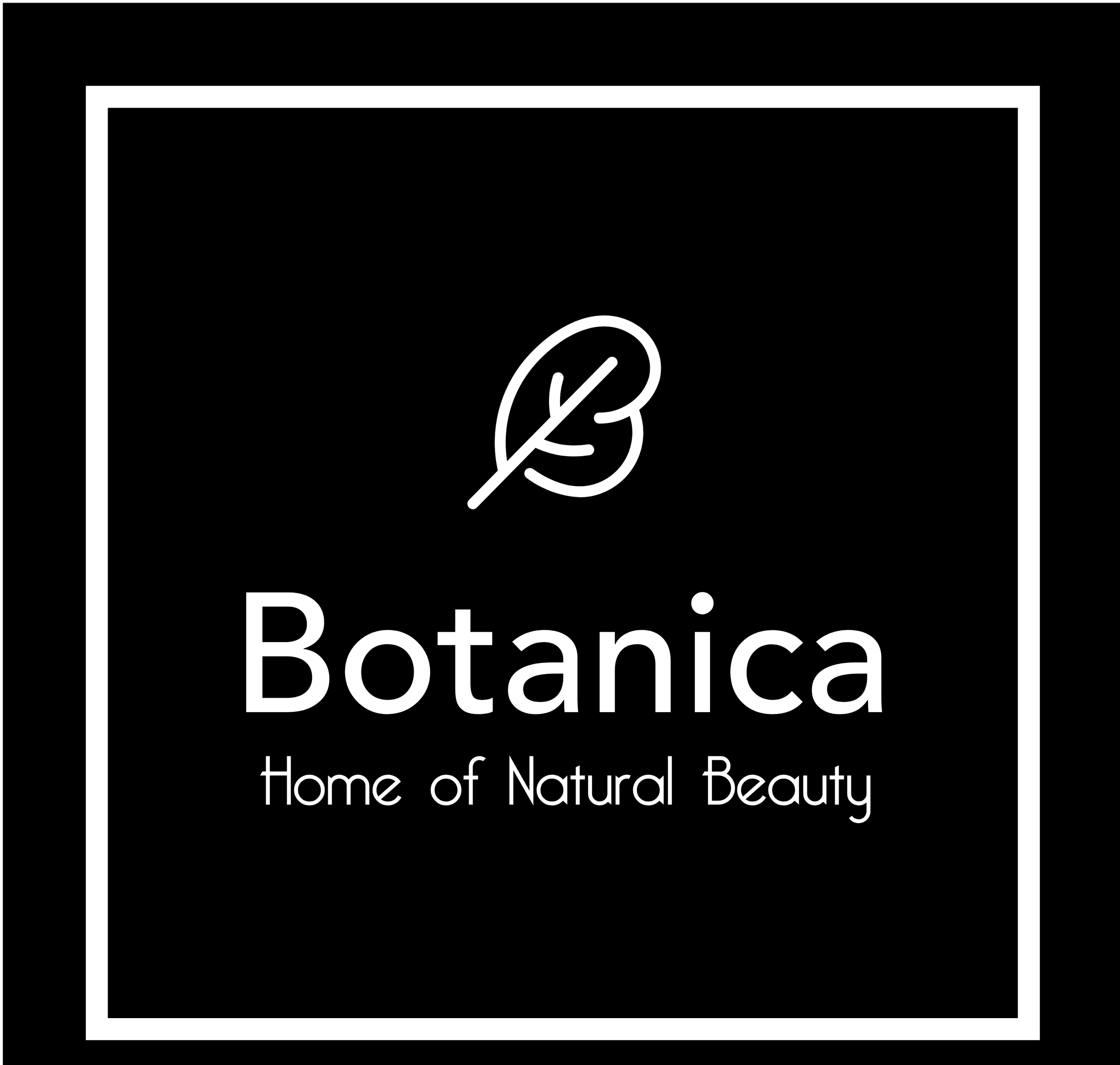 Botanica Home of natural beauty logo image